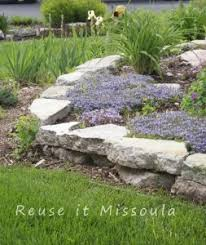 Front Yard Retaining Walls Landscaping Ideas - building an urbanite retaining wall or pathway