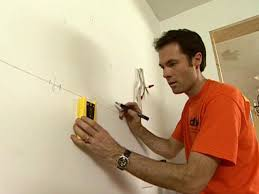how install wall and base kitchen cabinets tos diy use stud finder locate the wall studs