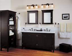black and gray bathroom vanity lighting interiordesignew com