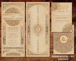 deco wedding invitations 49 best deco vintage invitations images on