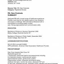 cover letter scenic nurse resume sample sample new grad rn resume