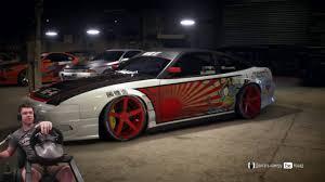 дрифт японка nissan 180sx type x u002796 need for speed 2016 на руле