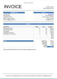 example of a invoice company invoice template