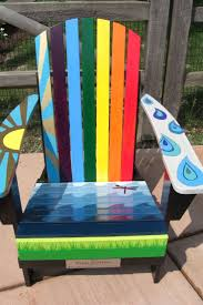 Recycled Adirondack Chairs 21 Best Painted Adirondack Chairs Images On Pinterest Adirondack