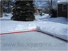 Best Backyard Hockey Rinks Backyards Awesome Backyard Rink Liners Backyard Ice Rink Kits