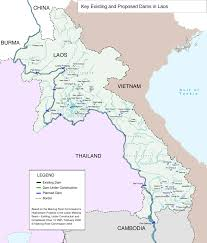Southeastern Asia Map by Southeast Asia International Rivers