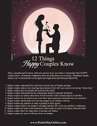 12 things happy couples robin may online