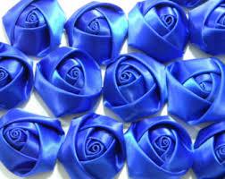 Blue Roses For Sale Blue Satin Roses Etsy