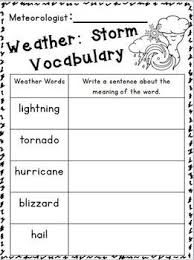 extreme weather for kids worksheets the best and most