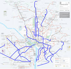 washington dc metrobus map metrobus adds service to several key routes greater greater