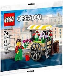 flower cart lego creator set polybag flower cart 40140 toys