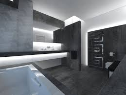 Bathroom Ideas White And Brown by Grey Bathroom Ideas Pinterest Dark Stone Tile Wall And Exposed