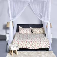 Mosquito Net Bed Canopy Goplus 4 Corner Post Bed Canopy Mosquito Net King Size