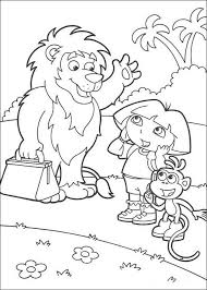 goodbye lion coloring pages hellokids
