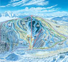 Keystone Resort Map Ski Monarch Mountain Places I Have Been Pinterest Ski Trail
