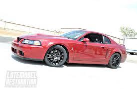 2004 Mustang Cobra Black 2004 Red Fire Ford Mustang Cobra With Black 18x9 Sve Drift U2026 Flickr