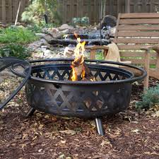 Large Firepits Ember Durango Large 34 In Bronze Pit With Free