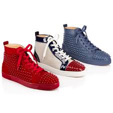 christian louboutin mens shoes spikes mens red bottom dress shoes