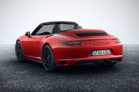 red porsche convertible new 2017 porsche 991 2 gts revealed the pick of the u0027normal u0027 911