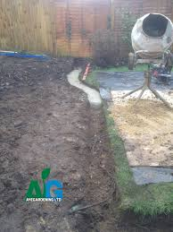 Sub Base For Patio by Large Patio Installation In Ashtead Surrey Professional Landscaping