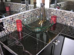 Undermount Glass Bathroom Sinks Undermount Glass Bathroom Sinks The Trend Glass Bathroom Sinks
