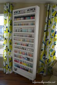 Behind The Door Cabinet Paint Archives Craft Storage Ideas