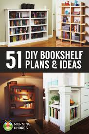 Simple Wooden Bookshelf Plans by 51 Diy Bookshelf Plans U0026 Ideas To Organize Your Precious Books