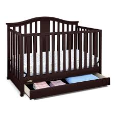 Graco Stanton Convertible Crib Black by Graco Crib With Drawer Baby Crib Design Inspiration