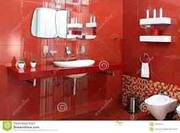 bathroom lavish contemporary red bathrooms best red bathroom