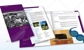 4 fold brochure template best and professional templates