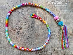 hippie hair wrap handmade removable hair wraps dread wraps charms