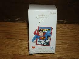 amazon com hallmark keepsake superman comic book heroes christmas