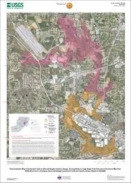 Georgia Road Map Usgs Scientific Investigations Map 3220 Flood Inundation Maps For