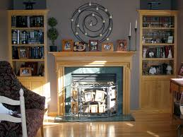 Fireplace Mantels With Bookcases Storage Solutions Custom Woodcraft