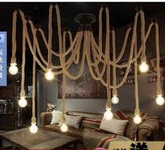 Chandelier With Edison Bulbs Discount 10 E27 Droplight Edison Bulbs Vintage Net Spider