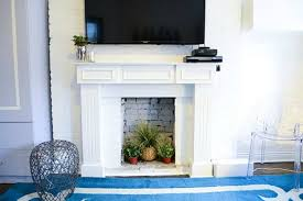 Decorating A Modern Home by 14 Creative Ideas For Decorating A Non Working Fireplace Brit Co