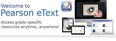 pearson etext app for android pearsonschoolcanada ca pearson etext etext android app