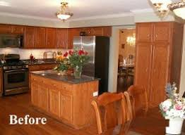 Oak Cabinet Kitchen Makeover - update oak cabinets yeo lab co