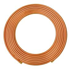 everbilt 3 8 in o d x 20 ft copper soft refrigeration coil pipe
