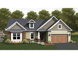 2 bedroom home craftsman accented ranch hwbdo76918 ranch from builderhouseplans