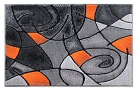 Modern Orange Rug Masada Rugs Modern Contemporary Area Rug Mat Orange