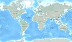 South China Sea Map East China Sea Map By Freeworldmaps Net