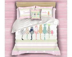 duvet cover gold girls bedding teen room decor girls