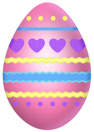 easter pink egg with hearts png clipart picture gallery