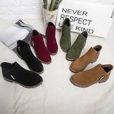 zipper boots s s ankle chelsea zipper boots chunky block heels