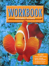 harcourt science level 1 workbook harcourt publishers