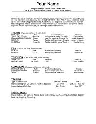 Acting Resume For Beginner 50 Headshots And 50 Resumes U2013 Premiere Store