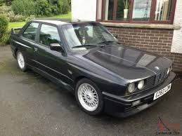 1990 bmw e30 m3 for sale 1990 bmw m3 e30 black lhd genuine m3 evo evolution