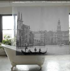 bathroom county unique shower curtain decor with white modern bathroom county unique shower curtain decor with white modern ceramic clawfoot bathtub and grey tiles
