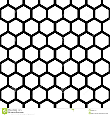 New Modern Black And White by Vector Modern Seamless Geometry Pattern Hexagon Black And White